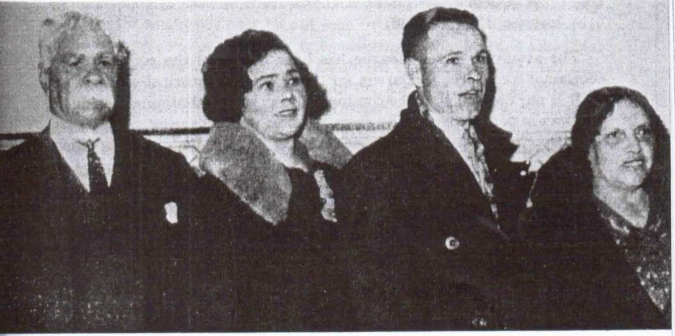 Choir Members, William Cooper, Marg Tucker, Lynch Cooper and Sarah Cooper